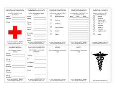 Medical Records Organizer Kit  Professionally Printed Tabs For