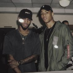Keith Powers and Bryson Tiller Black Is Beautiful, Beautiful Boys, Pretty Boys, Gorgeous Men, Fine Boys, Fine Men, Keith Powers, T Power, Man Crush Everyday