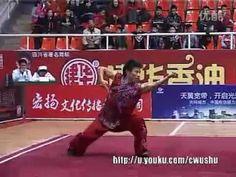 Fanzi Quan (Liu Huan) - China Traditional Wushu Nationals 2011 - YouTube