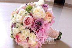 buchet de mireasa cu dantela Bridal Bouquet Pink, Blush Wedding Flowers, Diy Flowers, Wedding Bouquets, Country Wedding Decorations, Wedding Themes, Our Wedding, Spring Wedding, Floral Wreath