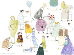 Playful Handmade Illustrations by Diana Toledano | ILLUSTRATION AGE
