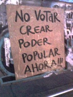 """CONVOCATORIA GRÁFICA """"NO VOTO Y NO ME CALLO POR…"""" (varias organizaciones)"""