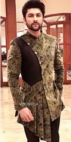 Hmm Hmm Nigerian Men Fashion, Indian Men Fashion, Mens Fashion Suits, African Fashion, Indian Wedding Clothes For Men, Wedding Dress Men, Kurta Men, Mens Sherwani, Boys Kurta Design