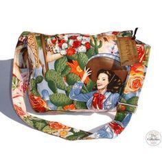 Handmade Pinup & Rockabilly Senoritas Messenger Bag