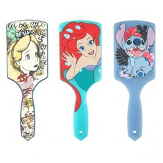 Disney Hair Brushes from Hot Topic
