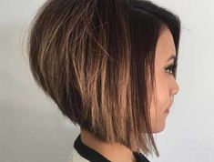 Chic Inverted Bob Hair Cuts for Women