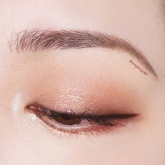 #Korean Eye Make Up #longlong180 Pin By #Akiwarinda