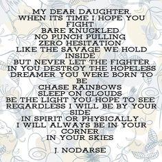 Dear daughter... #writeordie #words #poetry #wordporn #writersofinstagram #wordgasm #jnodarse #poetryisnotdead #writing #quotes #followme #iwriteforyou #iwritetoenlight #lgbt #writing #wordgasm #love #wordsheal #mypenmysword #inkedpoet #highpoet #myminime