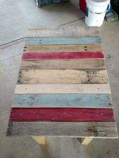 Another pallet table