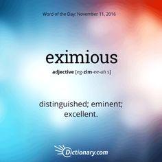 This word has Latin origins, entering our English around 1550.