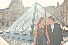 """""""A Gorgeous Paris Engagement Session 