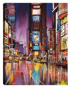 Electric City, by Paul Kenton #art #NewYok #nyc #TimesSquare