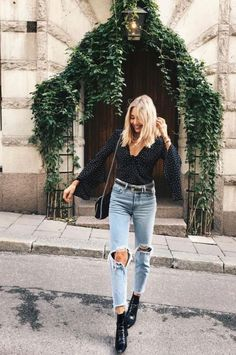 fantastic summer outfits that always looks fantastic - page 13 Skandinavian Fashion, Fall Winter Outfits, Spring Outfits, Spring Summer Fashion, Autumn Winter Fashion, Spring Style, Summer Fall, Spring Fashion, Moda Fashion