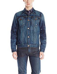 Veste jean vintage homme