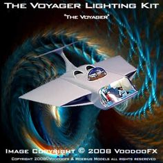 The Voyager Lighting Kit is designed to fit the Moebius Models model kit Voyager. Comes with everting you need to bring this model to life. Set up to light the main flight deck, engines & cockpit bubble. Robinson Family, Sci Fi Tv Shows, Fantastic Voyage, Classic Sci Fi, Lost In Space, Flight Deck, Movie Props, Sci Fi Movies, Figure Model