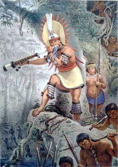 Título da obra: Sinal de Batalha de Índios Coroados (Bororos)