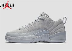 cheap for discount 612eb b0225 Men s Air Jordan 12 Low Retro Wolf Grey Basketball Shoes Wolf Grey Armory  Navy 308317-002,Jordan-Jordan 12 Shoes Sale Online