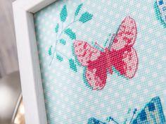 Licensed Illustration work for Cross Stitch Chart. April Rose Illustration/Siobhan Harrison
