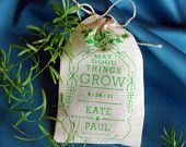 Eco Friendly Custom Seed Bomb Wedding Favors - Perfect for Outdoor Country Garden Ceremony Flowers Herbs Wildflowers