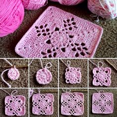 Mystery Square - Free Pattern                              …