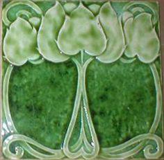 Art Nouveau Tile ~ West Side Art Tiles -3278n302p0>