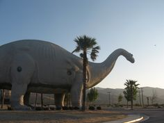Cabazon, CA BIG dinosaurs! Get up close and personal with dinosaurs while getting educated about what life was like in prehistoric times. It's fun and amazing — and perfect for kids and adults of all ages. San Diego, San Francisco, Cabazon Dinosaurs, Houston, Coral Castle, You Deserve The World, Great Pyramid Of Giza, Lake Havasu City, Pyramids Of Giza
