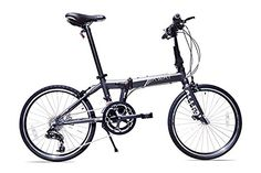 Allen Sports XWay Aluminum 20 Speed Folding Bicycle, Stone, 12-Inch/One Size - http://www.bicyclestoredirect.com/allen-sports-xway-aluminum-20-speed-folding-bicycle-stone-12-inchone-size/