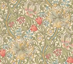 Buy William Morris and Co 210398 Golden Lily Wallpaper | Archive Wallpapers | Fashion Interiors