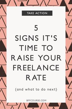 Freelance Income| Service Rate| Raising Rates| How to Raise Your Rate| Solopreneur | Income via @bffcourse