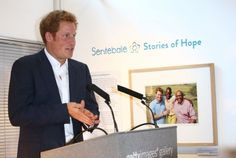 "At the Getty Images Gallery in London, Prince Harry attended the opening of the exhibition of photographs by Chris Jackson, entitled ""The Sentebale - Stories of Hope."""