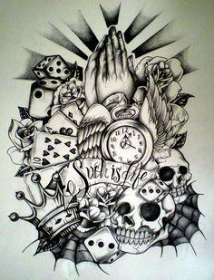 Full sleeve tattoos, tattoo sleeve designs, tattoo designs for women, sleev Half Sleeve Tattoos Designs, Full Sleeve Tattoos, Tattoo Designs Men, Tattoo Sleeves, Trendy Tattoos, New Tattoos, Tattoos For Guys, Cross Tattoos, Basic Tattoos