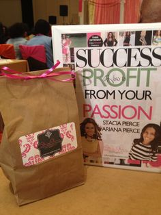 WSC 2013 - Success Goodies! Thank you Dr. Stacia!