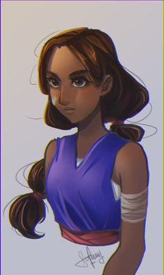 Sworn to the Sword - Connie[DA]Practicing a new coloring/lining style. It was fun!