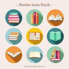 Resultado de imagen para etiquetas para imprimir de dibujos de libros