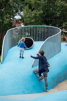Billie Holliday playground, Carve, Loosduinen, Netherlands, 2013
