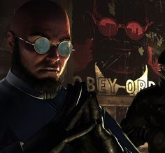 """""""Had you ever considered that all this is your fault? Your presence creates these animals..."""" -- Hugo Strange (Batman: Arkham City, 2011)"""