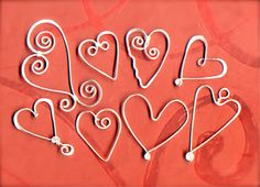 ***GALLERY of HEARTS***  WireWorkers Guild: January 2013