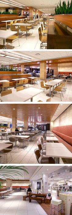 Food Court at Toronto Dominion Centre in Toronto, ON - designed by GH+A (in collaboration with B+H Architects)