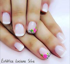 Cute Nail Art, Cute Nails, Nail Inspo, How To Do Nails, Pedicure, You Nailed It, Diy And Crafts, Nail Designs, Hair Beauty