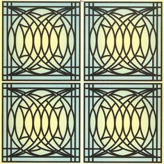 Frank Lloyd Wright Art Glass