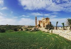 The beautiful #basilica of Ta' Pinu in Gharb #Gozo  Featured Photographer: @yadeit   Tag your #photos with #MaltaPhotography to get a chance to be #featured on @maltaphotography - http://ift.tt/1T1gqWE  #sun #blue #sky #basilica #religion #building #colours #island #jj #Malta #Photography #instagramhub #instafamous #photooftheday #picoftheday #lonelyplanet #travel #destination #worlderlust #beautifuldestinations #December