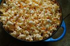 OMG why have I not done this yet?  Popcorn made in bacon fat instead of oil