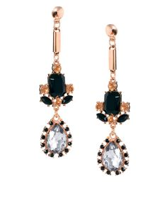 ASOS Luxury Spike Gem Drop Earrings