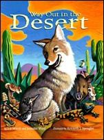 Book, Way Out in the Desert by Jennifer Ward