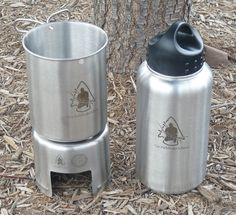 Stainless Steel Bottle Stove, $17.99 Bottle & cup NOT included