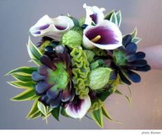 what flowers look good with succulents   ... Succulents allow for such a unique and interesting look, they stand