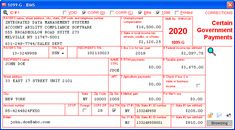 Certain Government Payments - Data is entered onto windows that resemble the actual forms. Imports recipient information from spreadsheets or delimited text files. Files Copy A electronically via IRS FIRE or on preprinted laser forms. Prepares recipient and payer copies on ordinary copy paper or PDF for eDelivery. Irs Forms, Copy Paper, Software, Pdf, Fire, Windows, Window, Ramen