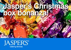 Join our Christmas box bonanza competition, simply place an order for your Christmas catering and be entered into winning a Christmas box of goodies for your office!