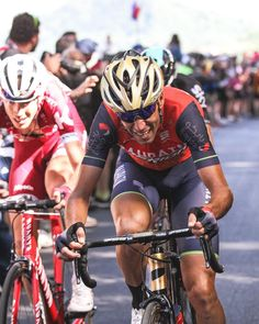 Vincenzo Nibali giving it all on the climb to Oropa Stage 14 Giro100 credit @tornanti