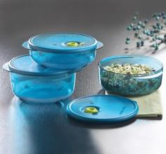Tupperware | Vent 'N Serve(r) Small Round Set